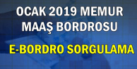 2019 Ocak Memur Maaşı Bordrosu (E Devlet'ten E-Bordro Sorgulama)