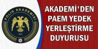 Polis Akademisi'nden PAEM Açıklaması