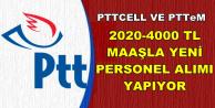 PTT 4000 TL Maaşla Üç Kadroya Personel Alımı KPSS Şartsız 2019