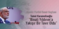 Saadet Partisi Genel Başkanı Temel Karamollaoğlu'ndan 'Binali Yıldırım' Açıklaması: Yakışan Bir Tavır