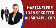 Sağlık Bakanlığı Hastanelere 1338 Sekreter Alımı Yapıyor