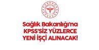 Sağlık Bakanlığı'na Lise Mezunlarından Yüzlerce KPSS'siz Personel Alımı Yapılacak