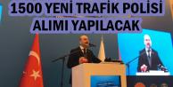 Süleyman Soylu: 1500 Yeni Trafik Polisi Alımı Yapılacak