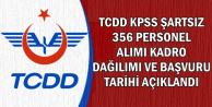 TCDD KPSS Şartsız Kadrolu Alım Başvuru Tarihi ve Kadro Dağılımı Açıklandı