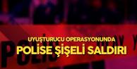 Tekirdağ'da Uyuşturucu Operasyonunda Polise Şişeli Saldırı