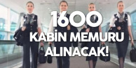 Türk Hava Yolları'na 1600Kabin Memuru Alımı Yapılacak