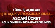 Türk İş Açlık ve Yoksulluk Sınırı Rakamlarını Açıkladı