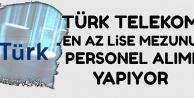 Türk Telekom 2020-2500 TL Maaşla 2 Kadroya Personel Alıyor