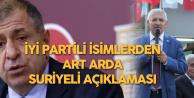 Ümit Özdağ ve Fahrettin Yokuş'tan Art Arda 'Suriyeli' Çıkışı