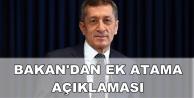 Ziya Selçuk'tan Ek Atama, LGS ve Meslek Kanunu Açıklaması