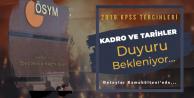 2019 KPSS Tercih Tarihleri ve Atama Sayısı Duyurusu Bekleniyor