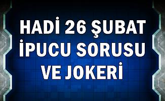 26 Şubat Hadi İpucu ve Joker: Adem'in Yaratılışı Tablosu Nerede?