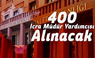 Adalet Bakanlığı 400 İcra Müdür Yardımcısı Alımı Başvuruları 4-8 Mart Tarihlerinde Alınacak