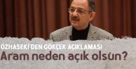 AK Parti Ankara Büyükşehir Belediye Başkan Adayı Özhaseki'den Melih Gökçek Açıklaması