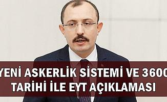 AK Parti'den Yeni Askerlik ve 3600 Ek Gösterge Tarihi ve EYT Açıklaması