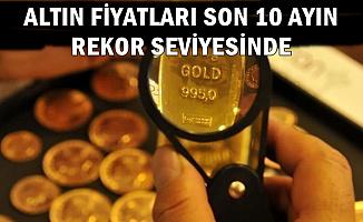 Altın Fiyatları Son 10 Ayın Rekorunu Kırdı (20 Şubat Döviz Kuru-Altın Fiyatları)