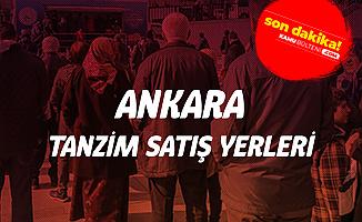 Ankara Tanzim Satış Yerleri Belli Oldu (Ankara'daki Ucuz Sebze Satışı Yapılacak Yerler)