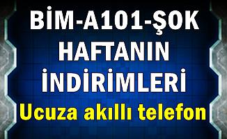 BİM-A101-ŞOK 27-28 Şubat-1 Mart İndirimleri (Ucuza Akıllı Telefon)