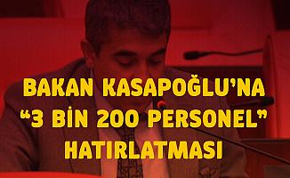 CHP'li Metin İlhan Gençlik ve Spor Bakanlığı 3 Bin 200 Sözleşmeli Personel Alımını Gündeme Getirdi