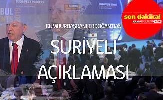 Cumhurbaşkanı Erdoğan'dan Son Dakika Suriyeli Açıklaması: Ülkelerine Gönderemezsek...