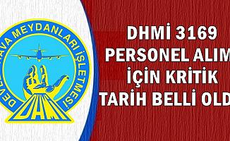 DHMİ 3169 Personel Alımında Kritik Tarih Belli Oldu