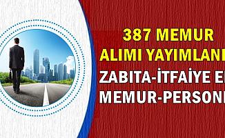 Diyarbakır Belediyesi 387 Memur Alımı İlanı (Zabıta-İtfaiyeci-Memur-Personel)