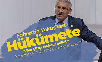 Fahrettin Yokuş: Konya'da 3 Bin Çiftçi Mağdur Edildi, Cezaevlerini Boyladı