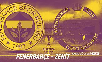 Fenerbahçe Zenit Maçı Hangi Kanalda? Maçı Şifresiz Veren Kanal Var mı?