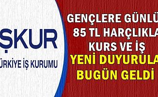 Gençlere Günlük 85 TL-İŞKUR'dan 41 Farklı Şehre Yeni Personel Alımı Duyuruları Bugün Geldi