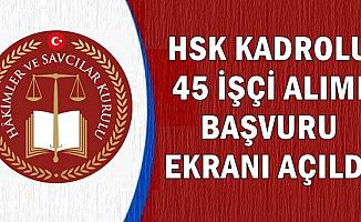 HSK 60 KPSS ile ve KPSS'siz Kura ile İşçi Alımı Başvuru Ekranı Açıldı-İŞKUR'dan En Az İlkokul