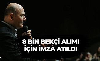 Süleyman Soylu: 8 Bin Bekçi Alımı İlanı..