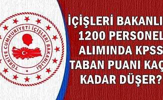 İçişleri Bakanlığı 1200 Personel Alımında KPSS Puanı Kaça Kadar Düşer?