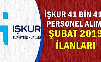 İŞKUR Türkiye Geneli 41 Bin 416 Personel Alıyor-Şubat 2019 Güncel İş İlanları