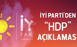 İYİ Parti'den 'HDP' İddialarıyla İlgili Açıklama