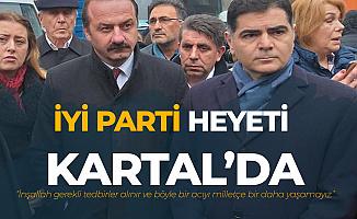 İYİ Parti Grup Başkanvekili Ağıralioğlu : İnşallah Tedbir Alınır ve Böyle Bir Acıyı Bir Daha Yaşamayız