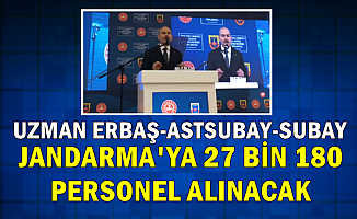 Jandarma 27 Bin 180 Uzman Erbaş-Astsubay-Subay-Memur Alımı Yapacak