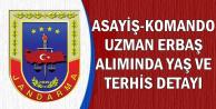 Jandarma Asayiş-Komando Uzman Alımı Geri Sayımı Sona Eriyor Ama..