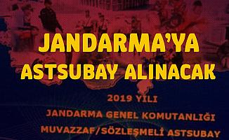 Jandarma Astsubay Alımı Yapacak - Jandarma Sözleşmeli Astsubay Alımı Başvuru Tarihleri ve Şartları