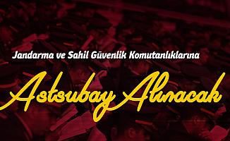 Jandarma ve Sahil Güvenlik Komutanlıkları Astsubay Alımı Başvuru Sayfası