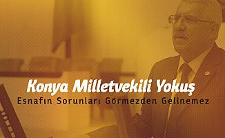 Konya Milletvekili Yokuş'tan 'Yeni İş Yeri Açacak Vatandaşa 5 Yıllık Devlet Desteği' Çağrısı