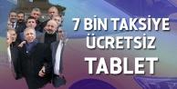 Mansur Yavaş: 7 Bin Taksiye Ücretsiz Tablet Dağıtacağız