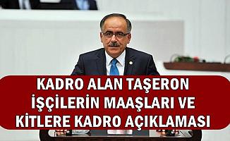 MHP'den TBMM'de Önemli Taşeron Çıkışı: KİT'lere Kadro ve Maaş Zammı..