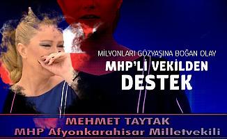 MHP'li Taytak'tan Müge Anlı'nın Programında Babasını Öldürdüğünü İtiraf Eden Kız Çocuğuna Destek