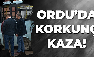 Ordu Fatsa'da Korkunç Kaza! 8 Kişi Yaralandı