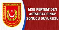 PERTEM'den 2019 Muvazzaf Astsubay Sınav Sonucu Açıklaması
