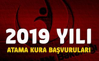 Sağlık Bakanlığı 2019 Yılı İlk Defa ve Yeniden Atama Kura Tarihi ve Başvuru Şartları