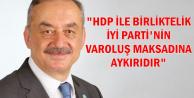 """Tatlıoğlu: """"HDP ile siyasi birliktelik İYİ Parti'nin varoluş maksadına aykırıdır"""""""