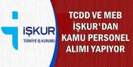 TCDD ve MEB İşkur'dan Kamu Personel Alımı Yapıyor-En Az İlkokul Mezunu