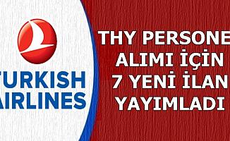 Türk Hava Yolları 7 Yeni İlan Yayımladı-İşte Başvuru Ekranı