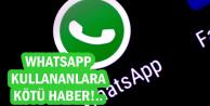 WhatsApp Kullananlara Kötü Haber: Silinen Mesajlarınız..